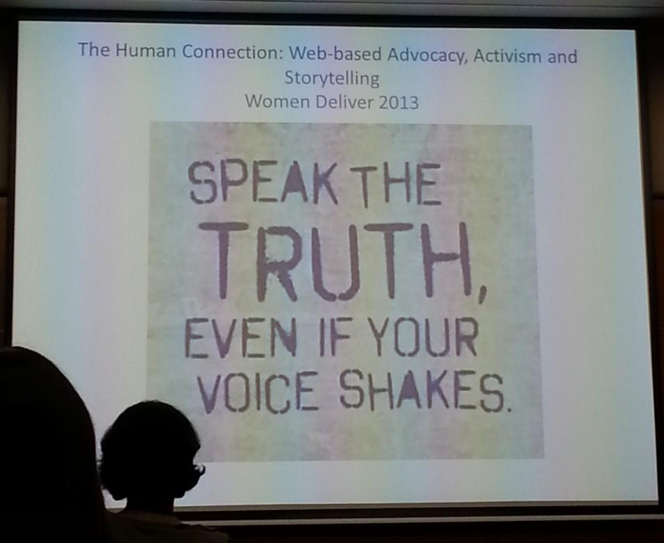 speak d truth